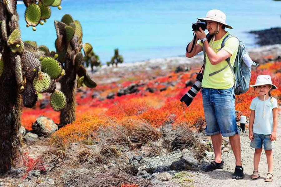 Trekking in Galapagos